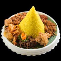 nasi kuning tumpeng catering alkautsar